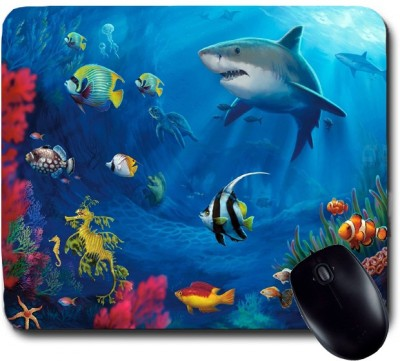 Awwsme Group Of Fishes Mousepad