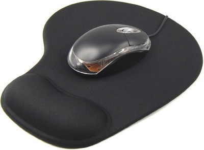 Coni Black Pad Mousepad