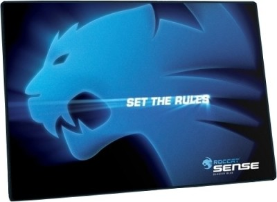 Roccat Sense Chrome Blue Mousepad