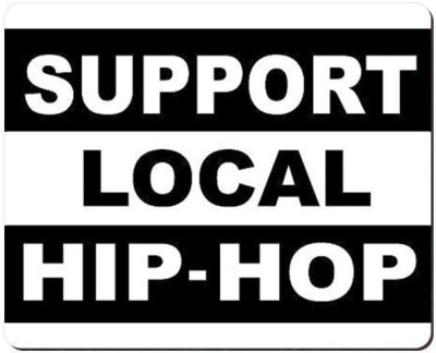 Urban Monk Support Local Hip Hop Mousepad