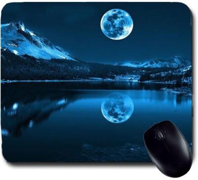 Awwsme Shadow Of Moon In Water Mousepad