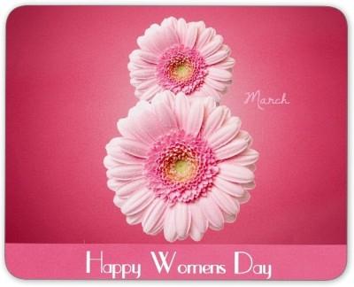 Digiclan Women's day Mouse Pad Mousepad