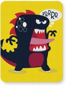 PosterGuy Pop Art Dinosaur Illustration Mousepad