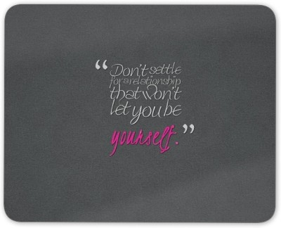 Digiclan be yourself Mouse pad Mousepad(Grey)