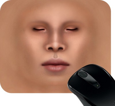Huppme Embossed Face Mousepad