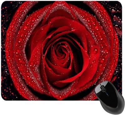 BSEnterprise Red Rose Mousepad