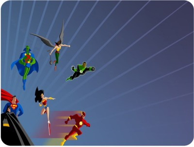 Shopkeeda Super Heros Mousepad