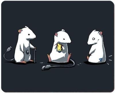 Urban Monk Mouse Parody Art Mousepad