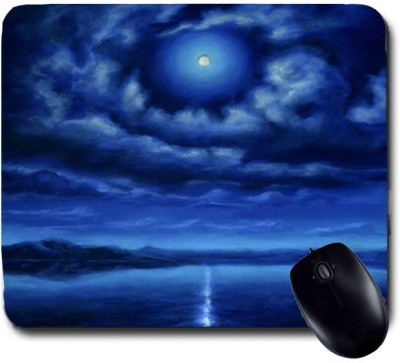 Awwsme Shadow Of Moon In Lake Mousepad