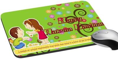 meSleep Happy Raksha Bandhan Love Raksha Mousepad