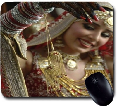 Awwsme Wedding Girl Mousepad