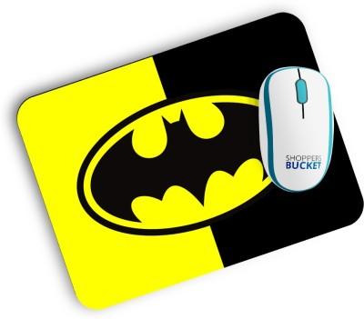 Shoppers Bucket Batman1 Mousepad