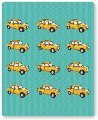 PosterGuy Quirky Ambassador Car Pattern Quirky Illustration Mousepad