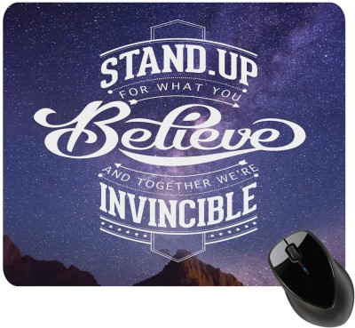 BSEnterprise What You Believe Mousepad