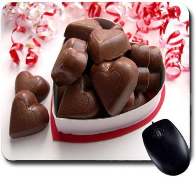 Awwsme Heart Chocolates Mousepad