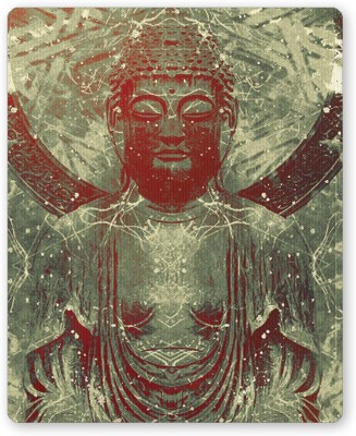 PosterGuy Lord Buddha Peaceful Religious Mousepad
