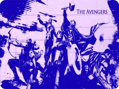 SYL The Avengers Mousepad