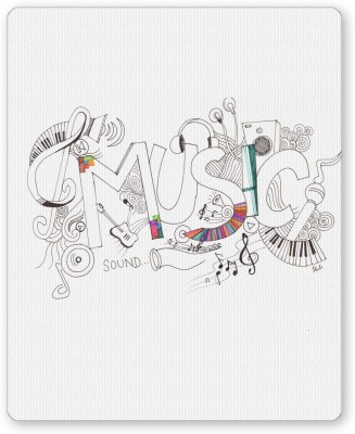 PosterGuy Music Is My Life Illustration Mousepad
