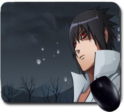 Awwsme Boy With Red Eye Mousepad