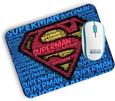 Shoppers Bucket Multiple Super man Mousepad Mousepad