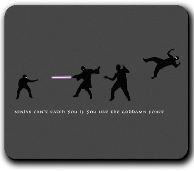 Get Fatang May The Force Be With You Mousepad