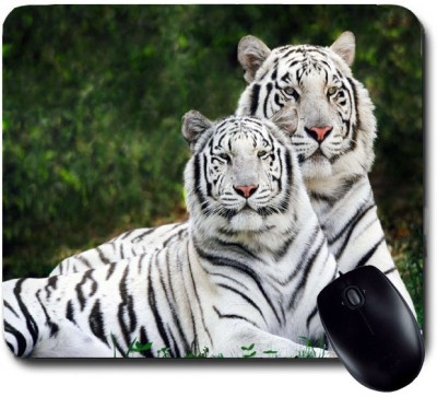 Awwsme White Tigers Mousepad