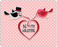 Lovely Collection Be My Valentine Birdie Mousepad