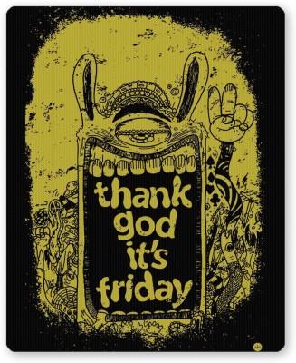 PosterGuy Thank God It's Friday (TGIF) Graphic Design Mousepad