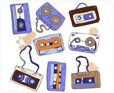 Urban Monk Vintage Cassette Mousepad