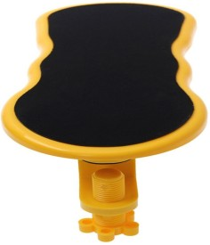 Divinext Xn Xin Comfortable Arm Rest Support Mousepad(Yellow)