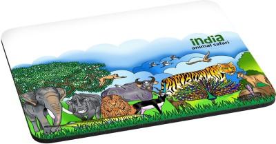 Indiavibes Animal Safari Theme Designer Mousepad