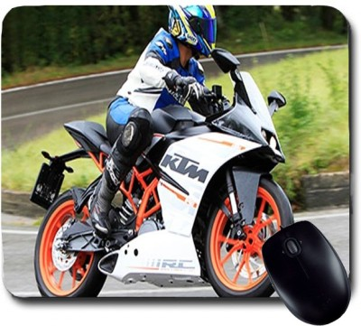 Awwsme Here Is Beautiful KTM Bike Mousepad