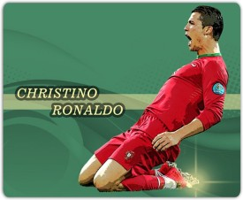 Lovely Collection Christino Ronaldo In Action Mousepad