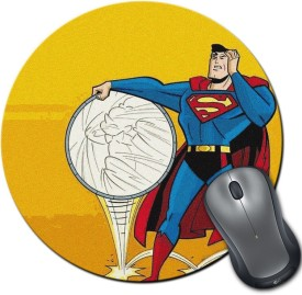 RangeeleInkers Superman Sarcasm Round Mousepad
