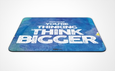 InstaNote What Ever Youre Thinking Think Bigger Mousepad
