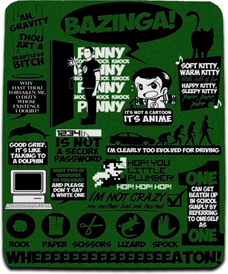 Get Fatang The Big Green Theory Mousepad