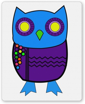 PosterGuy The Quirky Blue Owl Quirky Mousepad