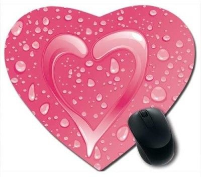 Awwsme Beautiful Hearts And Water Droplets196 Mousepad