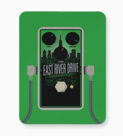 PosterGuy East River Drive Guitar Effects Pedal Mousepad