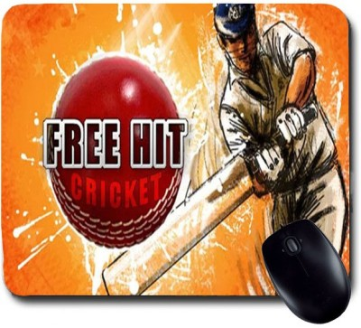 Awwsme Free Hit Cricket Mousepad