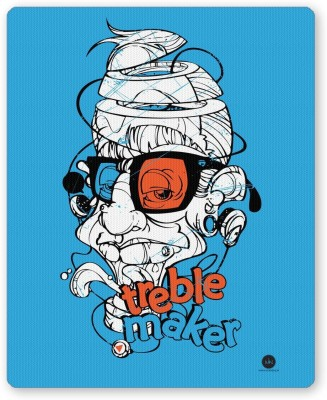 PosterGuy Treble Maker Quirky Illustration Music Fans Mousepad