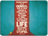 Desicase life quotes Mousepad (Multicolo...