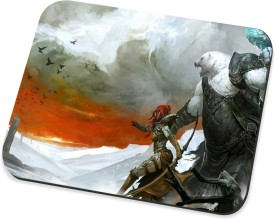 Amy God Of War_2 Mousepad