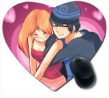 Awwsme Very Funny Couples Heart Mousepad...