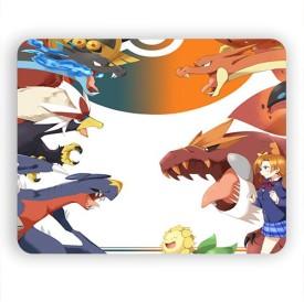 Magic Cases Pokemon GO Characters Design-226 Mousepad(Multicolor)