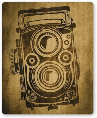 PosterGuy Shoot Me Pop Art Camera Grunge Mousepad