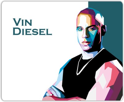 Lovely Collection Vin Diesel Art Mousepad
