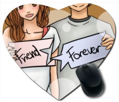 Awwsme Friend And Forever Heart Mousepad
