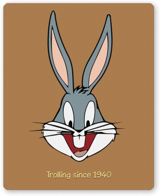 PosterGuy Bugs Bunny Trolling Since 1940 Cartoon Series Inspired Quirky Mousepad