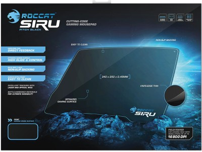 Roccat Siru Cryptic Blue Mousepad